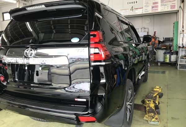 【新車ランクル プラド】Gem X Pro Coatのサムネイル
