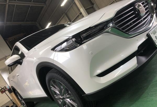 新車マツダCX-8 ガラスコーティング (Gem X)のサムネイル