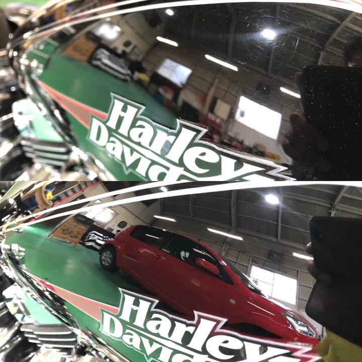 Harley Davidson ガラスコーティング+Gem Xのサムネイル