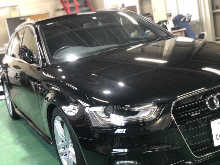 Audi 磨き+Gem  X Coat Proのサムネイル