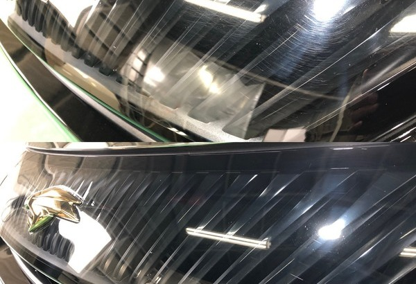 TOYOTA ハリアー 磨き ガラスコーティングのサムネイル