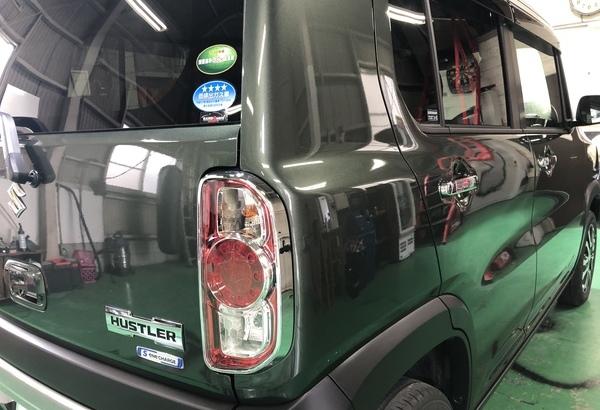スズキ ハスラー 新車ガラスコーティングのサムネイル