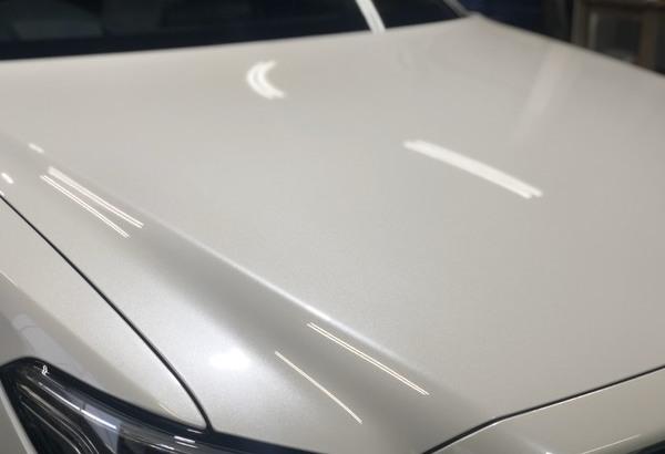 新車クラウン 新車 ガラスコーティング(Gem Hyper X) 施工