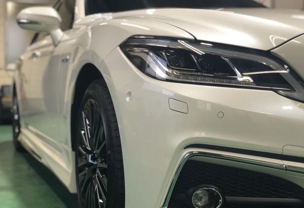 新車クラウン 新車 ガラスコーティング(Gem Hyper X) 施工のサムネイル