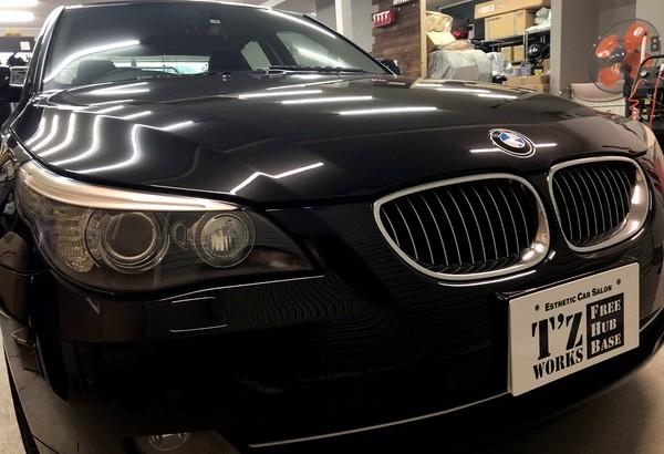 BMW ペンキ除去、磨き、コーティング