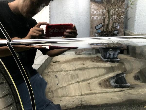福岡県糟屋郡粕屋町のオーナー様よりベルファイヤーの板金塗装承りました♪