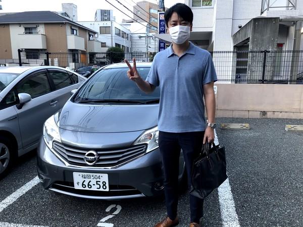 日産 ノート ご成約からの納車~~~