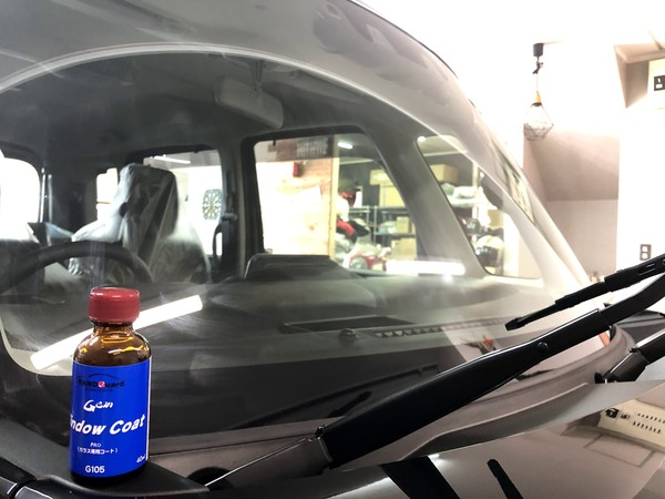 新車スペーシア グラスコートHYPER、ウインドコートPro施工